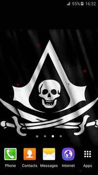 Pirate Flag Live Wallpaper screenshot 4
