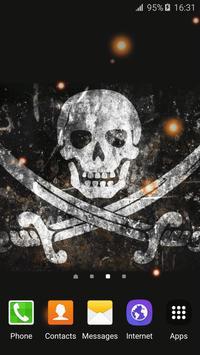 Pirate Flag Live Wallpaper screenshot 5