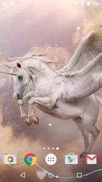 Unicorn Live Wallpaper screenshot 18