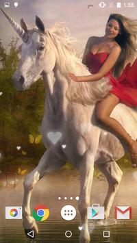 Unicorn Live Wallpaper screenshot 4