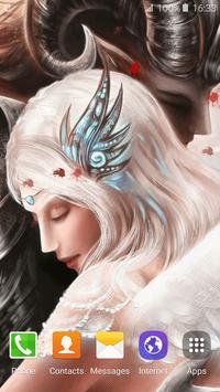 Vampire Love Live Wallpaper screenshot 5