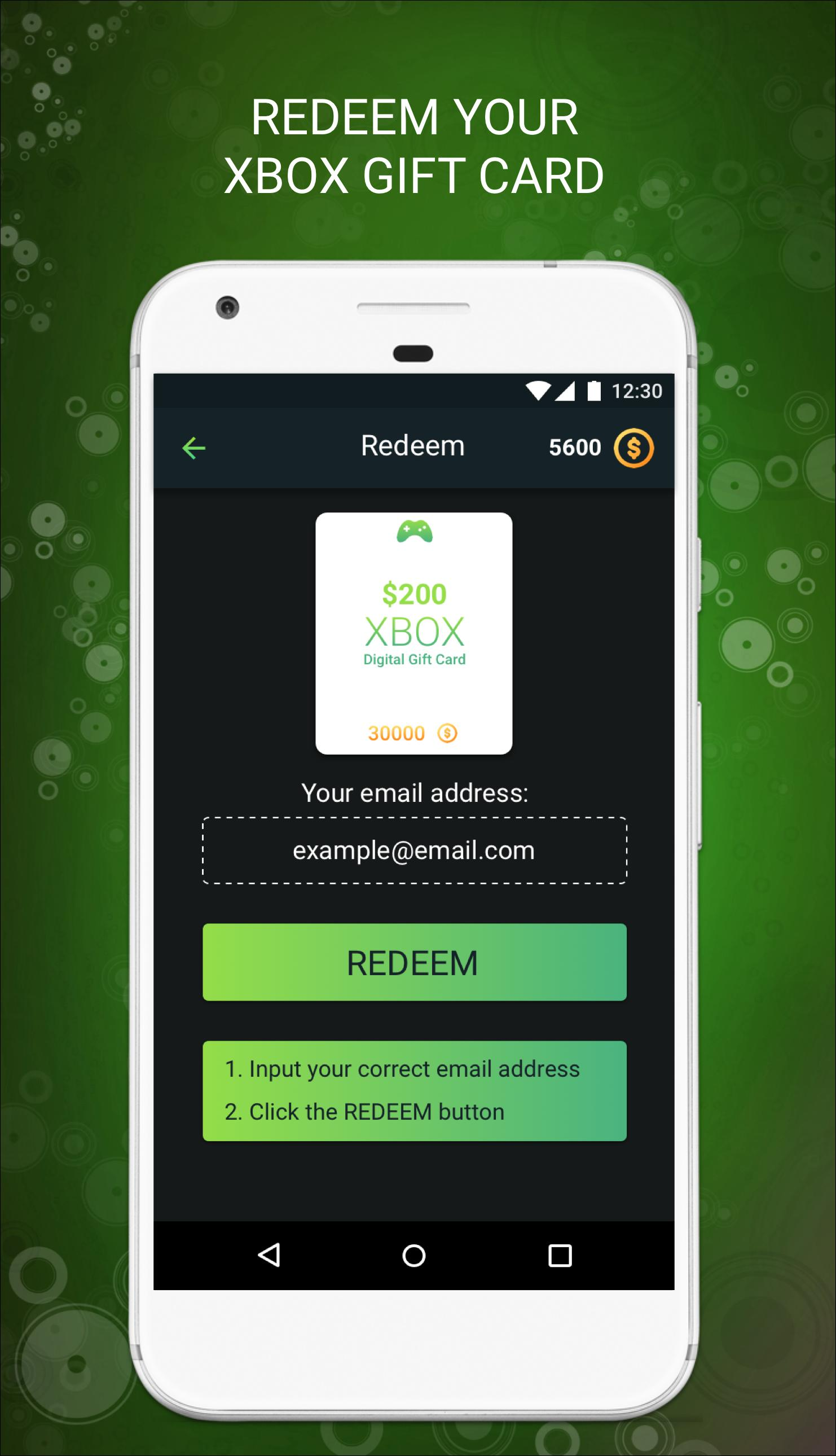 Get Free Xbox Gold Codes free xbox gift cards & live gold for android - apk download