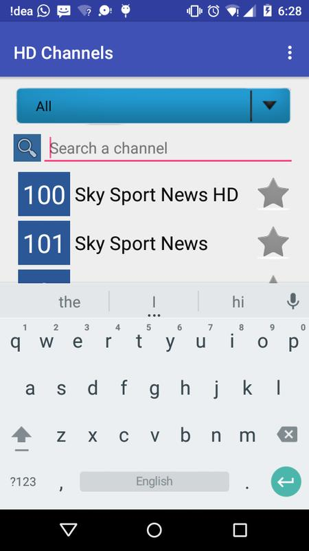 Sky Deutschalnd TV Channels For Android