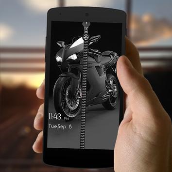 Heavy Bike Screen Lock poster