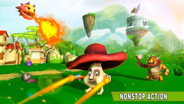 Mushroom War 2018: Fungi Adventure screenshot 1