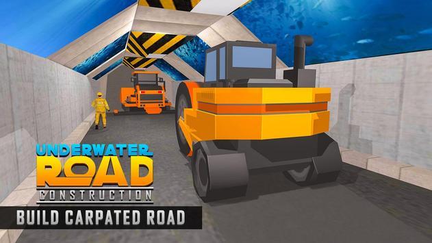 Underwater Road Builder: Bridge Construction 2019 screenshot 1