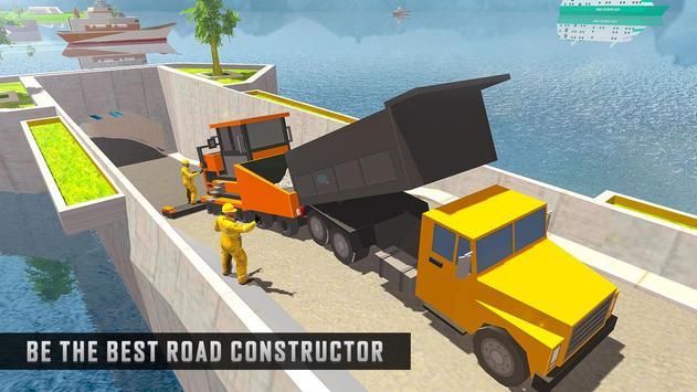 Underwater Road Builder: Bridge Construction 2019 screenshot 5