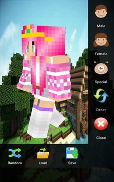 Skin Editor for Minecraft 3D screenshot 5