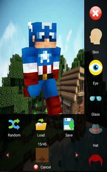 Skin Editor for Minecraft 3D screenshot 6