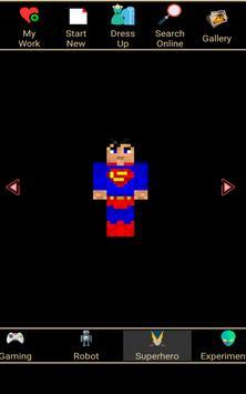 Skin Editor for Minecraft 3D screenshot 7