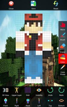 Skin Editor for Minecraft 3D screenshot 9