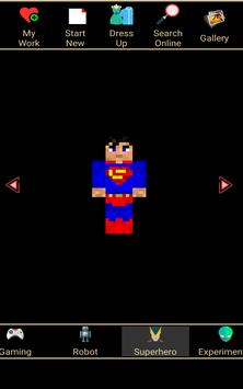 Skin Editor for Minecraft 3D screenshot 3