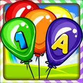 Balloon Pop Kids icon