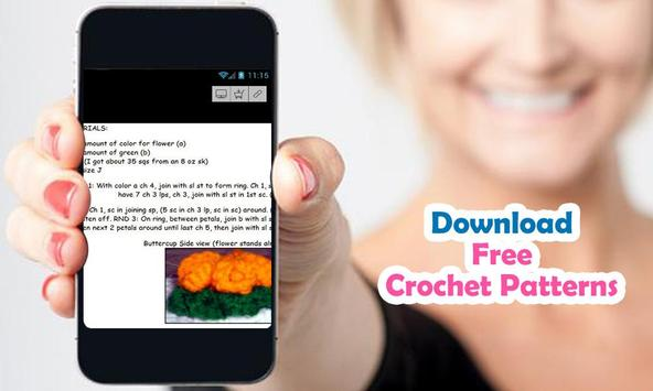 Crochet Patterns free 2016 apk screenshot