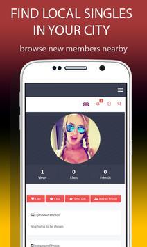 Insta Hookup Dating App apk screenshot