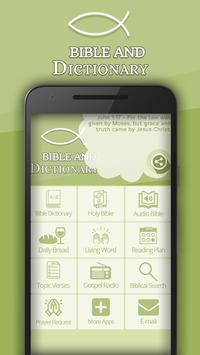 Bible and Dictionary poster