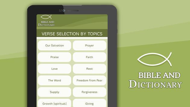 Bible and Dictionary screenshot 12