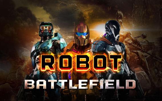 Robot Warrior Battlefield 2017 الملصق