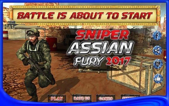 superhero sniper assassin fury poster