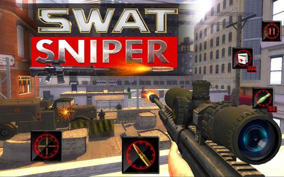 swat sniper 3d poster