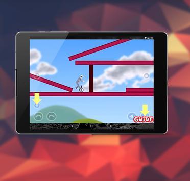 guide for  New Happy wheels apk screenshot