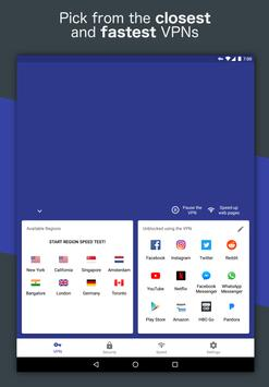 Free and Unlimited VPN - Safe, Secure, Private! apk screenshot