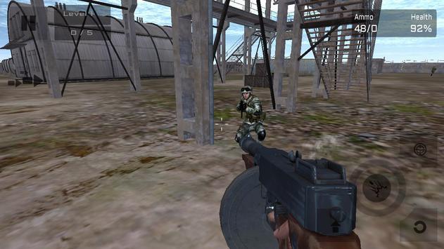 Commando Counter Attack 3D screenshot 1