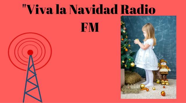 Viva la Navidad Radio FM poster