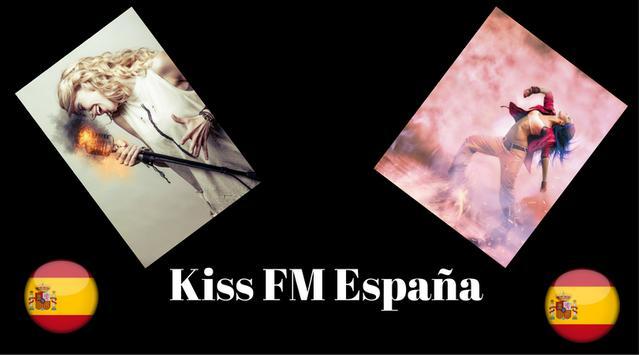 Kiss FM España poster