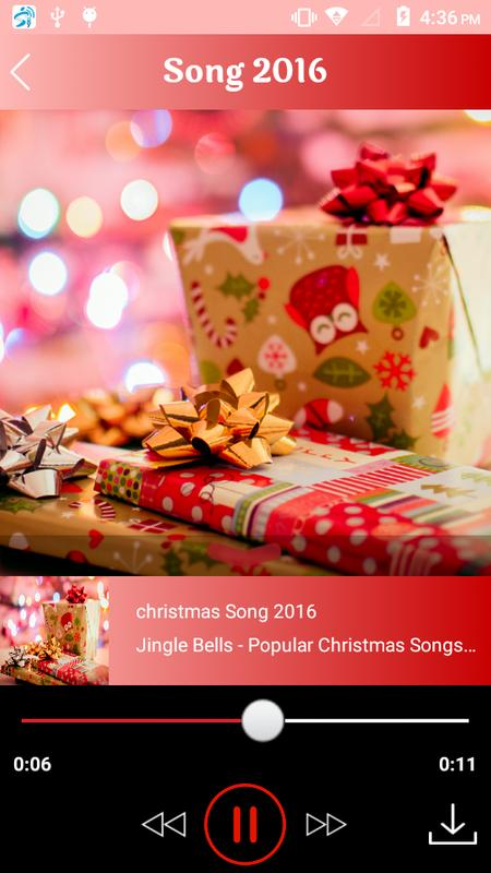 christmas ringtone song 2016 screenshot 2