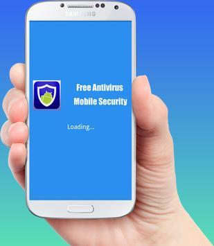 Free Antivirus Mobile Security poster