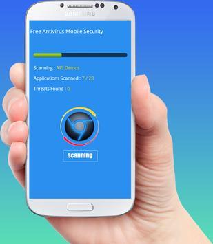 Free Antivirus Mobile Security apk screenshot