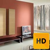 Home Interior Paint Design Ideas Free icon
