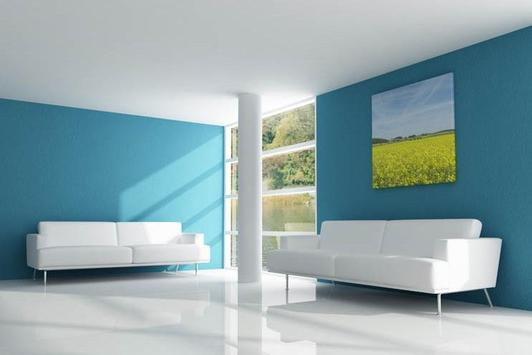 Home Interior Paint Design Ideas Free poster