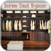 Bedroom Closet Organizer icon