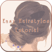 Easy Hairstyles Tutorial icon