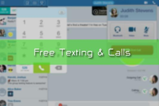 Free Text Me - Texting & Calls apk screenshot