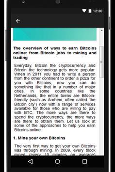 Tip TidBit Trade Earn Bitcoins screenshot 1