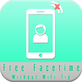 Free Facetime without WiFi Tip icon