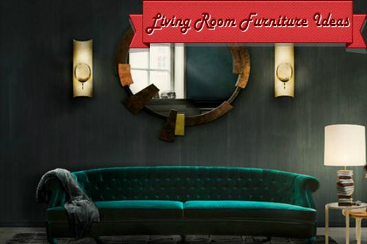 Living Room Furniture Ideas poster