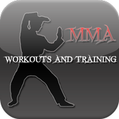 MMA WORKOUTS AND TRAINING icon