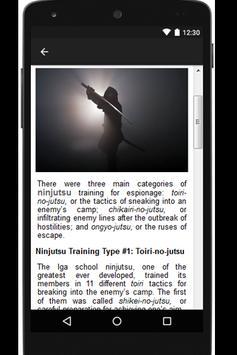 Ninjutsu Training apk screenshot