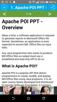Learn Apache POI for Android - APK Download