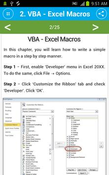 Free Visual Basic for Applications Tutorial for Android