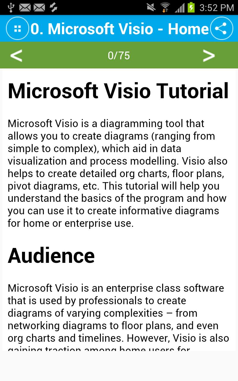 Free Microsoft Visio Tutorial for Android - APK Download