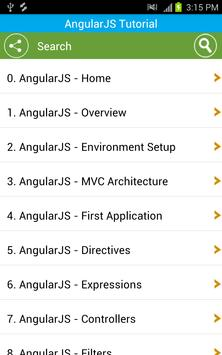 Free AngularJS Tutorial for Android - APK Download
