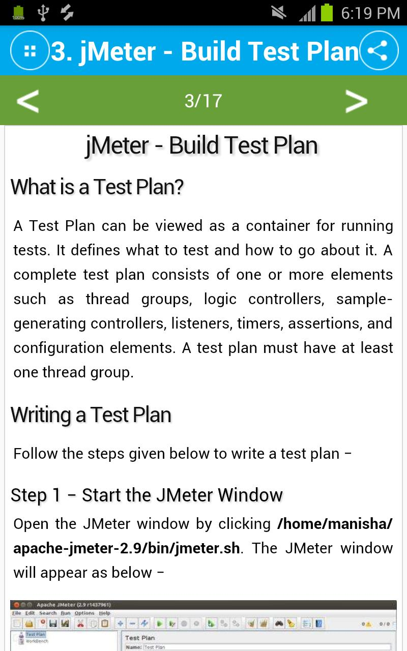 Free jMeter Tutorial for Android - APK Download