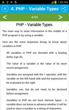 Free PHP Tutorial screenshot 3