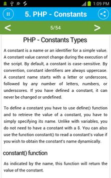 Free PHP Tutorial screenshot 4