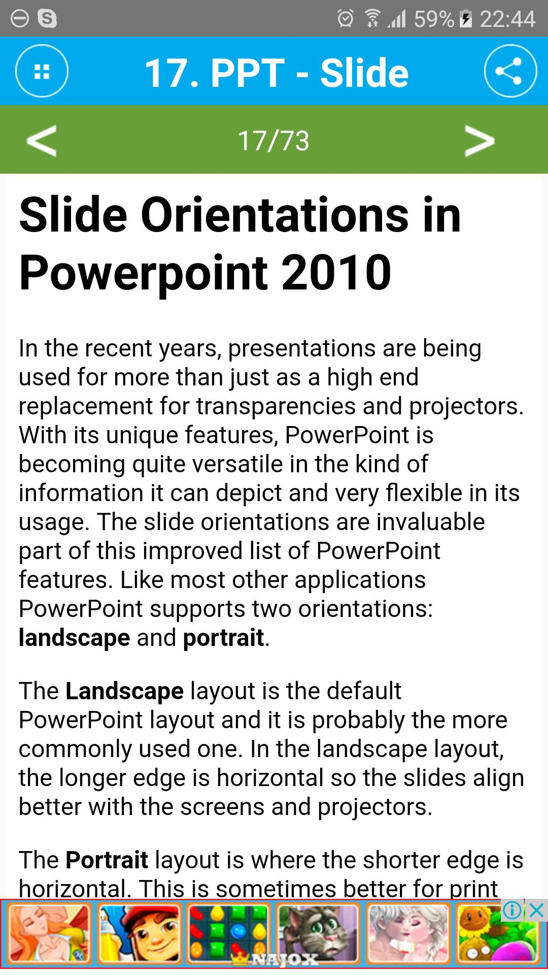Free Powerpoint 2010 Tutorial for Android - APK Download